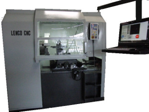 Mag wheel CNC lathe machine - Model: M210